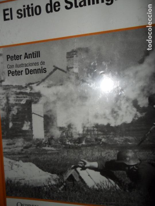EL SITIO DE SATALINGRADO, PETER ANTILL, ED. OSPREY, PRECINTADO (Libros de Segunda Mano - Historia - Segunda Guerra Mundial)