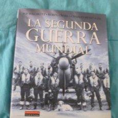 Libros de segunda mano: LA SEGUNDA GUERRA MUNDIAL - MESSENGER, CHARLES/WILLMOTT, H. P./CROSS, ROBIN C.DELECTORES.2004 318PP. Lote 101136095