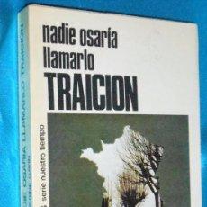 Libros de segunda mano: CATHERINE GAVIN, NADIE OSARÍA LLAMARLO TRAICIÓN · CAMPUS, 1978 · 19CM. 369PÁGINAS. Lote 101148311