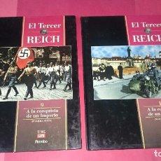 Libros de segunda mano: EL TERCER REICH Nº 9-10 A LA CONQUISTA DE UN IMPERIO ED. TIME LIFE ROMBO. Lote 101264627