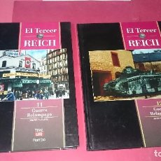 Libros de segunda mano: EL TERCER REICH Nº 11-12 GUERRA RELAMPAGO ED. TIME LIFE ROMBO. Lote 101264715
