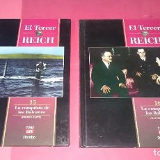 Libros de segunda mano: EL TERCER REICH Nº 15-16 LA CONQUISTA DE LOS BALCANES ED. TIME LIFE ROMBO. Lote 101264983