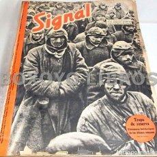 Libros de segunda mano: REETZ, WILHELM [DIRECTOR]. SIGNAL. REVISTA QUINCENAL. ENERO DICIEMBRE 1942. Lote 101849711