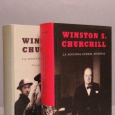 Libros de segunda mano: LA SEGUNDA GUERRA MUNDIAL. WINSTON S. CHURCHILL. 2 TOMOS. Lote 128462146