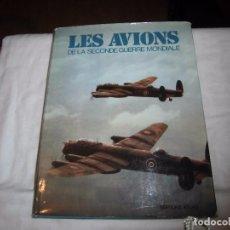 Libros de segunda mano: LES AVIONS DE LA SECONDE GUERRE MONDIALE.CHRISTOPHER CHANT.EDICIONES ATLAS PARIS 1976 EN FRANCES. Lote 102395395