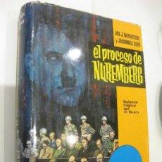 Libros de segunda mano: EL PROCESO DE NUREMBERG, HEYDECKER Y LEEB , TAPA DURA CON SOBRECUBIERTA. Lote 103433135