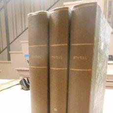 Libros de segunda mano: 3 TOMOS ENCUADERNADOS REVISTA SIGNAL. Lote 105674971