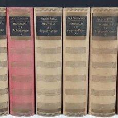 Libros de segunda mano: 2º GUERRA MUNDIAL. 9 VOLÚMENES. W.S. CHURCHILL. EDIT LOS LIBROS DE NUESTRO TIEMPO.1949/1951. . Lote 105965135