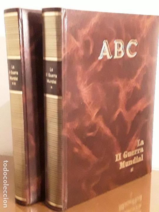ABC - HISTORIA DE LA SEGUNDA GUERRA MUNDIAL - DOS TOMOS. segunda mano