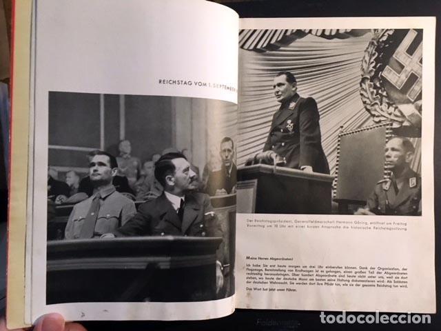 MIT HITLER IN POLEN. (CON HITLER EN POLONIA). BERLÍN, 1939. 200 FOTOS. (NAZISMO (Libros de Segunda Mano - Historia - Segunda Guerra Mundial)