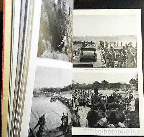 Libros de segunda mano: Mit Hitler in Polen. (Con Hitler en Polonia). Berlín, 1939. 200 fotos. (Nazismo - Foto 4 - 108702635