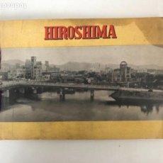 Libros de segunda mano: HIROSHIMA UNDER ATOMIC BOMB ATTACK POR SHOGO NAGAOKA (1956). Lote 109062303