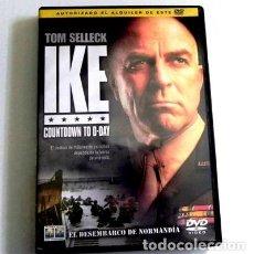 Libros de segunda mano: IKE DVD PELÍCULA - II GUERRA MUNDIAL DWIGHT EISENHOWER DÍA D HISTORIA - TOM SELLECK EXTRAS -NO LIBRO. Lote 112084767