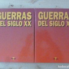 Libros de segunda mano: GUERRAS DEL SIGLO XX, 2 TOMOS, ALTAYA 1.995. 1ª Y 2ª GUERRA MUNDIAL CADA TOMO RESPECTIVAMENTE. Lote 112131271
