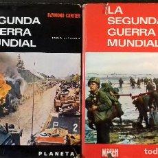 Libros de segunda mano: LA SEGUNDA GUERRA MUNDIAL. RAYMOND CARTIER. 2 TOMOS. Lote 112765999