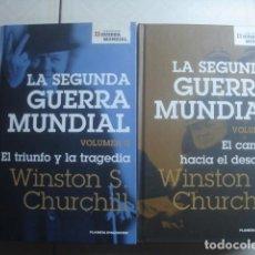 Libros de segunda mano: LA SEGUNDA GUERRA MUNDIAL. WINSTON S. CHURCHILL. PLANETA DEAGOSTINI, 2006. 2 VOLÚMENES. . Lote 112935375