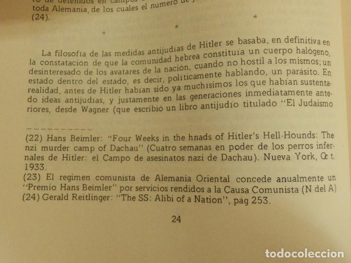 Libros de segunda mano: El Mito de los 6 millones - El Fraude de los Judios Asesinados por Hitler - J. Bochaca - - Foto 5 - 116496251