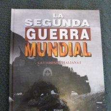 Libros de segunda mano: LA CAMPAÑA ITALIANA. VOL 1. LA SEGUNDA GUERRA MUNDIAL TIME LIFE FOLIO. Lote 116995383