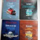 Libros de segunda mano: LOTE EL TERCER REICH 4 LIBROS (LAS SS/ LUFTWAFFE/ AFRIKACORPS/ GUERRA EN ALTA MAR). Lote 117456755