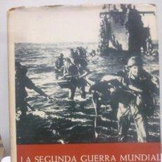 Libros de segunda mano: LA SEGUNDA GUERRA MUNDIAL EN FOTOGRAFIAS Y DOCUMENTOS. 3 VOLUMENES.PLAZA Y JANES 1965. Lote 118179387