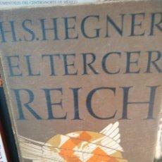 Libros de segunda mano: EL TERCER REICH. Lote 118294887