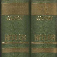 Libros de segunda mano: J.C. FEST. HITLER. 2 TOMOS. NOGUER. Lote 122106863