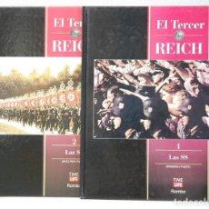 Libros de segunda mano: EL TERCER REICH:LAS SS.EDITORIAL ROMBO.1995. DOS TOMOS. Lote 123566103