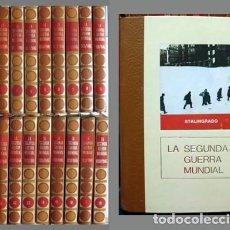 Libros de segunda mano: LA SEGUNDA GUERRA MUNDIAL, 1939 - 1945. 18 T0M0S. - A-GUE-2160. Lote 125330863