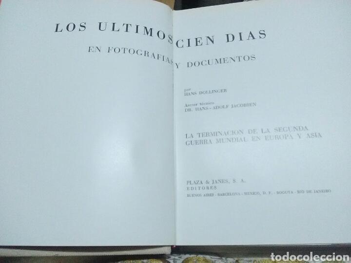 Libros de segunda mano: (Segunda Guerra Mundial) Los últimos cien días. H. Dollinger. P&J. 1972. - Foto 2 - 127463310
