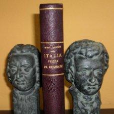 Libros de segunda mano: ITALIA FUERA DE COMBATE. ISMAEL HERRAIZ. DECIMA EDICION. 1944. Lote 127677423