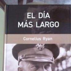 Livres d'occasion: EL DIA MAS LARGO CORNELIUS RYAN. Lote 127683523