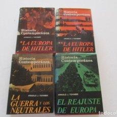 Libros de segunda mano: ARNOLD J. TOYNBEE HISTORIA CONTEMPORÁNEA. CUATRO TOMOS. RMT87306. Lote 129547871