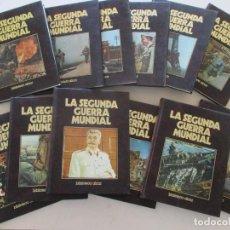 Libros de segunda mano: MARIANO DEL POZO (DIR.) CRÓNICA MILITAR Y POLÍTICA DE LA SEGUNDA GUERRA MUNDIAL. DOCE TOMOS.RMT87352. Lote 130269186