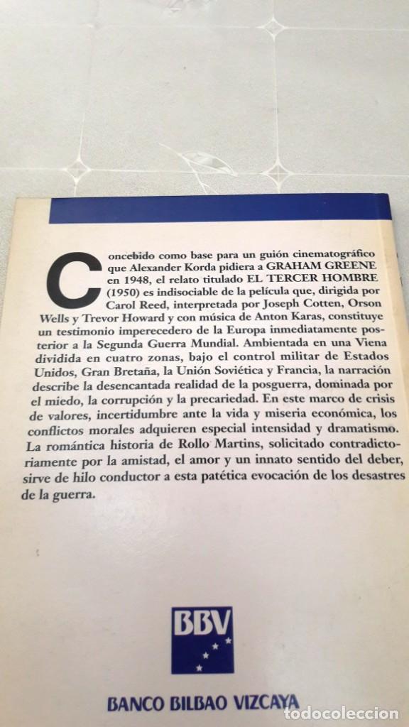 Libros de segunda mano: EL TERCER HOMBRE - GRAHAM GREENE - 1991 - Foto 2 - 130627014