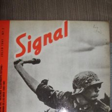 Libros de segunda mano: REVISTA SIGNAL,PROPAGANDA DE GUERRA ALEMANA,AÑOS 1940-1945,Nº 2,JULIO 1941.EDICIONES EL ARQUERO,1979. Lote 131156940