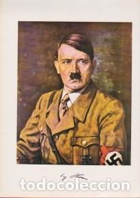 Libros de segunda mano: TERCER REICH, NAZISMO: Libro sobre ADOLF HITLER Muy ilustrado. En alemán. - Foto 2 - 131164108