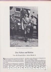Libros de segunda mano: TERCER REICH, NAZISMO: Libro sobre ADOLF HITLER Muy ilustrado. En alemán. - Foto 4 - 131164108