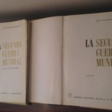 Libros de segunda mano: SEGUNDA GUERRA MUNDIAL DE JOSE FERNANDO AGUIRRE.. Lote 132483763