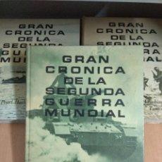 Libros de segunda mano: 3 TOMOS GRAN CRONICA DE LA SEGUNDA GUERRA MUNDIAL. Lote 132717842