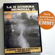 Libros de segunda mano: DVD DOCUMENTAL MANADA DE LOBOS - EL MUNDO EN GUERRA SUBMARINOS NAZIS ATLÁNTICO II MUNDIAL - NO LIBRO. Lote 134201106