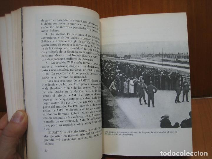 Libros de segunda mano: Segunda Guerra Mundial. La Gestapo - Foto 3 - 136623970