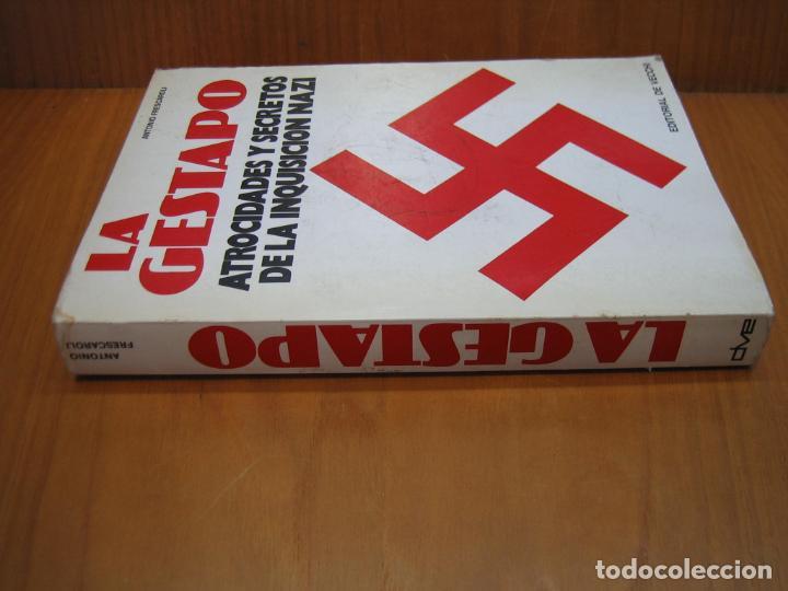 Libros de segunda mano: Segunda Guerra Mundial. La Gestapo - Foto 6 - 136623970