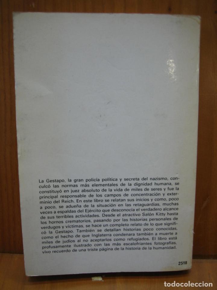 Libros de segunda mano: Segunda Guerra Mundial. La Gestapo - Foto 7 - 136623970