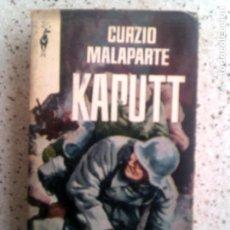Libros de segunda mano: LIBRO DE GURZIO MALAPARTE KAPUTT EDICIONES GP 1962 -503 PAGINAS. Lote 137833422
