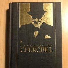 Libros de segunda mano: MEMORIAS DE CHURCHILL - ORBIS. Lote 137995018