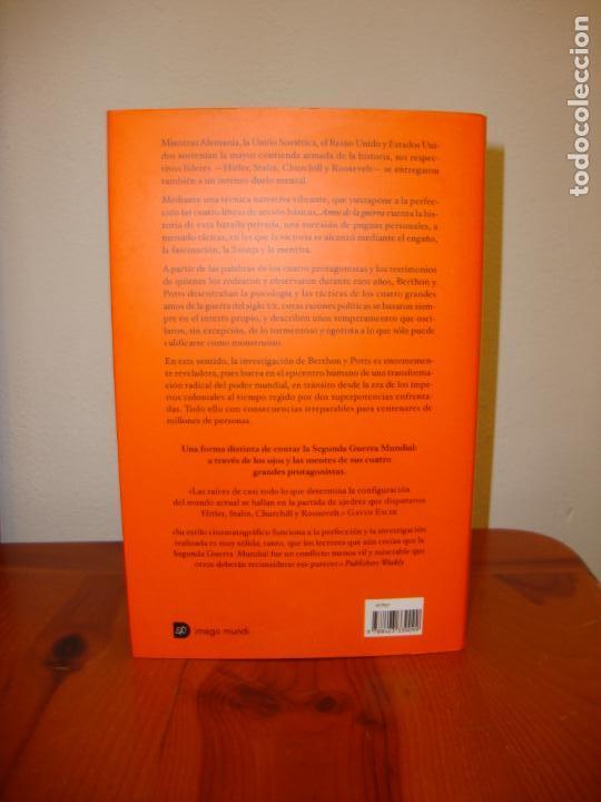 Libros de segunda mano: AMOS DE LA GUERRA. 1939-1945. EL CORAZÓN DEL CONFLICTO - SIMON BERTHON, JOANNA POTTS - DESTINO - Foto 3 - 138628314