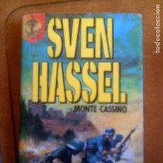 Libros de segunda mano: LIBRO DE SVEN HASSEL MONTECASINO PLAZA JANES EDITORES AÑO 1987 ,290. Lote 138758390