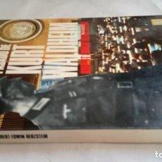 Libros de segunda mano: EL OSCURO PASADO DE KURT WALDHEIM-EDWIN HERZSTEIN ROBERT-EX OFICIAL REICH PRESIDENTE NACIONES UNIDAS. Lote 139871742