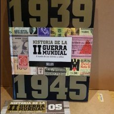Libros de segunda mano: LA SEGUNDA GUERRA MUNDIAL A TRAVES DE SUS BILLETES Y SELLOS / Nº 5 / PRECINTADO. Lote 191168655