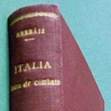 Libros de segunda mano: ITALIA FUERA DE COMBATE - ISMAEL HERRÁIZ - EDICIONES ATLAS - 1944 - NUEVO - VER INDICE. Lote 141151294